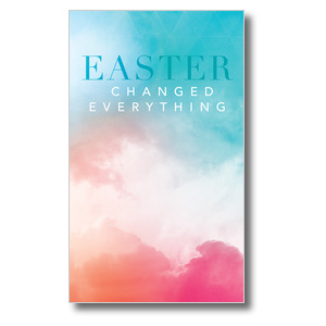 Easter Color 3 x 5 Vinyl Banner