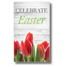 Easter Invited Wood Banner