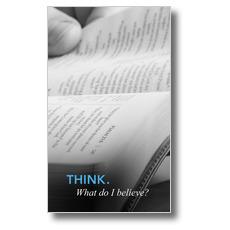 Believe: Think Banner
