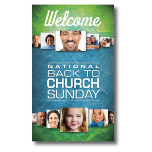 Back to Church Sunday 2015 Banners