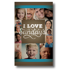 I Love Sundays Banner