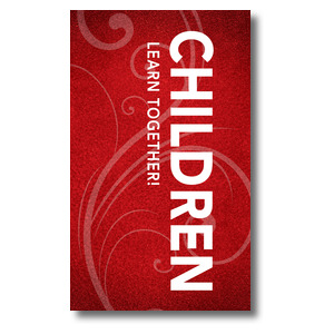 Flourish Children 3 x 5 Vinyl Banner