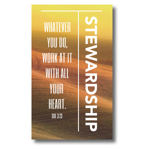Phrases Stewardship Banners
