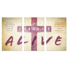 Alive Triptych Banner