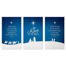 Christmas Silhouette Banner