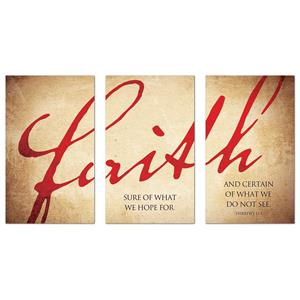Faith Triptych  Banners