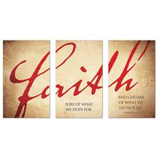Faith Triptych Banner