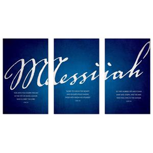 Messiah Triptych Banners