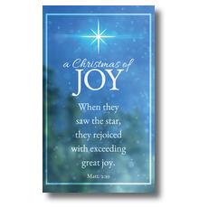 Christmas of Joy Banner