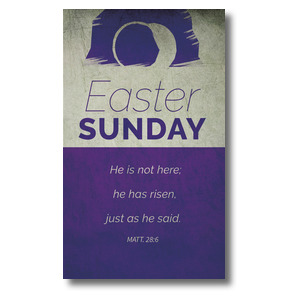 Color Block Easter 3 x 5 Vinyl Banner