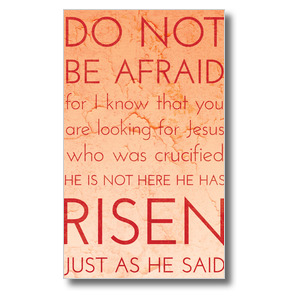 Holy Words Easter 3 x 5 Vinyl Banner
