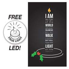 Light of the World Candle Banner