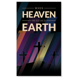 Heaven Rescued Earth 3 x 5 Vinyl Banner
