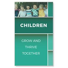 Mid Century Children Banner