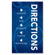 Flourish Directional Banner
