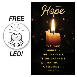Hope Candle Banners