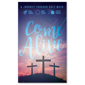 Come Alive Easter Journey 3 x 5 Vinyl Banner