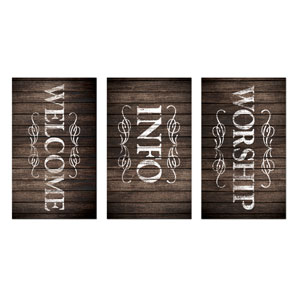 Rustic Charm Core Set Banners
