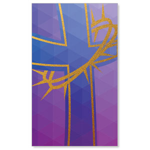 Bold Iconography Purple Cross Banners
