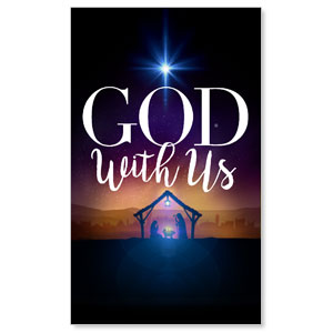 God With Us Advent Banners