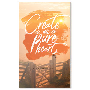 Beautiful Praise Pure Heart Banners