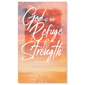 Beautiful Praise Refuge and Strength Banners