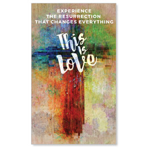 This is Love Easter 3 x 5 Vinyl Banner