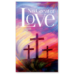 No Greater Love 3 x 5 Vinyl Banner