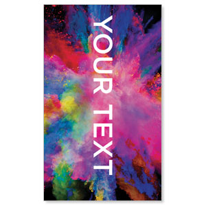 Back to Church Easter Your Text 3 x 5 Vinyl Banner