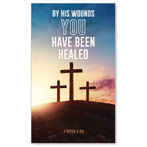 Easter Hope Outline Scripture 3 x 5 Vinyl Banner
