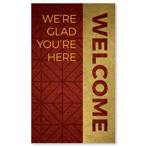 Celebrate The Season Advent Welcome 3 x 5 Vinyl Banner