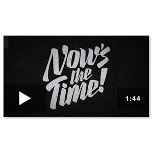 Now's The Time  Promo Video No Logo  Video Downloads