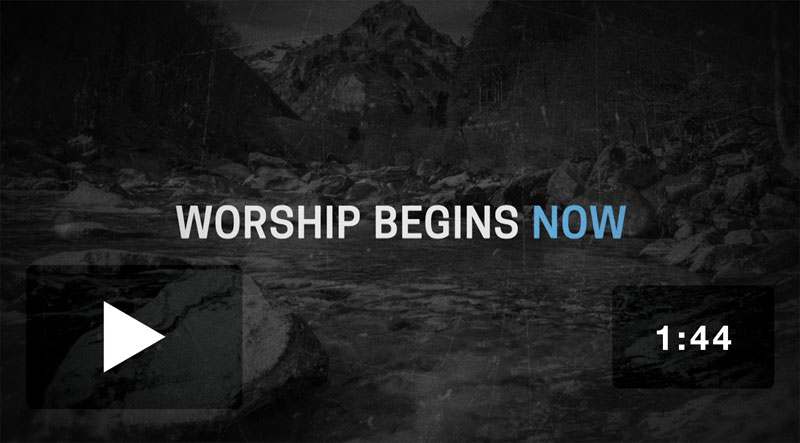 Now's the Time Motion Worship Video Video Download