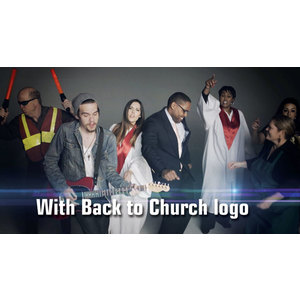 Church Rap Video with Logo Video Downloads