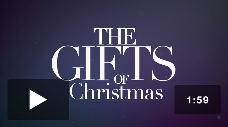 The Gifts of Christmas Advent Promo Video Video Download