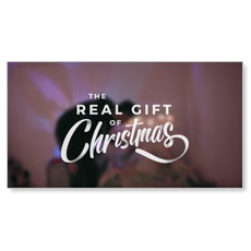 The Real Gift of Christmas - Christmas Eve Welcome Video Download