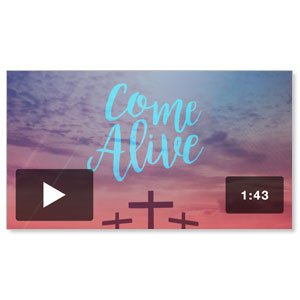 Come Alive Easter Sunday Welcome Video Downloads