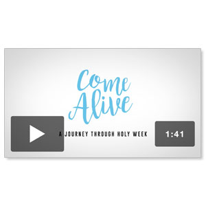 Come Alive Easter Who Will You Invite Video Downloads