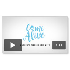 Come Alive Easter Who Will You Invite