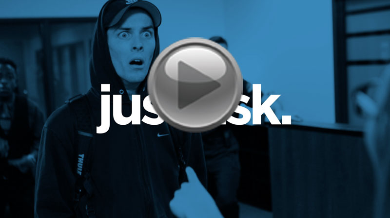 Just Ask - Bank Robbery Video Download