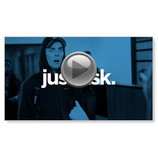 Just Ask - Bank Robbery Custom Video