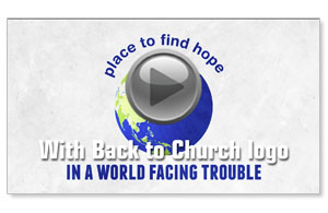 Our Church Welcomes You Invite BTCS Video Customized Customized Videos