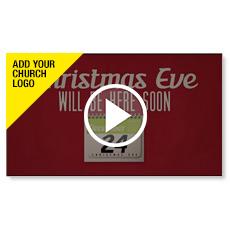 Christmas Invitations Custom Video