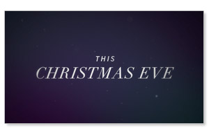 The Gifts of Christmas: Christmas Eve Invite Video Custom Customized Videos