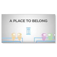 You Belong Here Invite