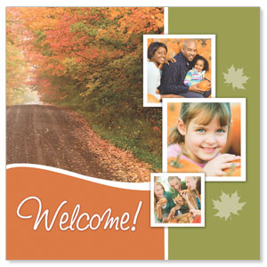 Fall Path Window Banners