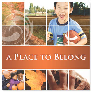 Belong Fall Window Banners