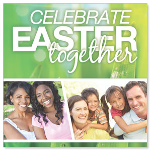 Easter Together Window Banners