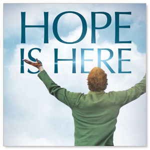 Hope Is Here Window Banners