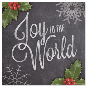 Chalk Joy Window Banners